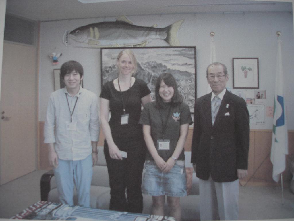 Gruppenphoto in Kulturbehörde
