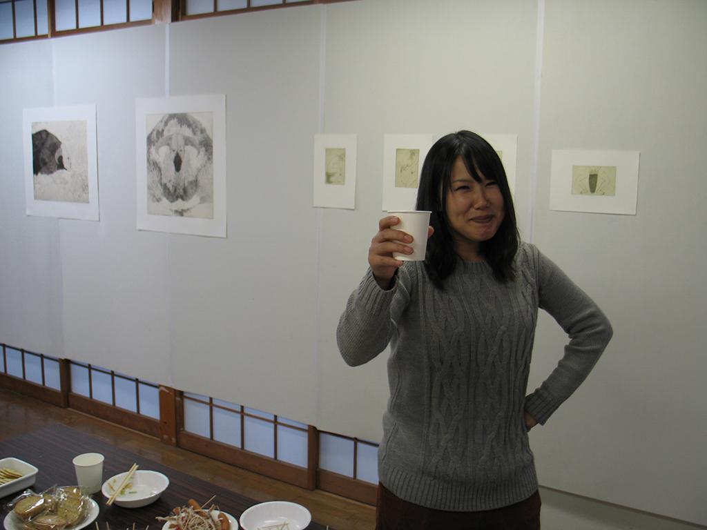 Ausstellung Itsukaichi, Chieko Minowa