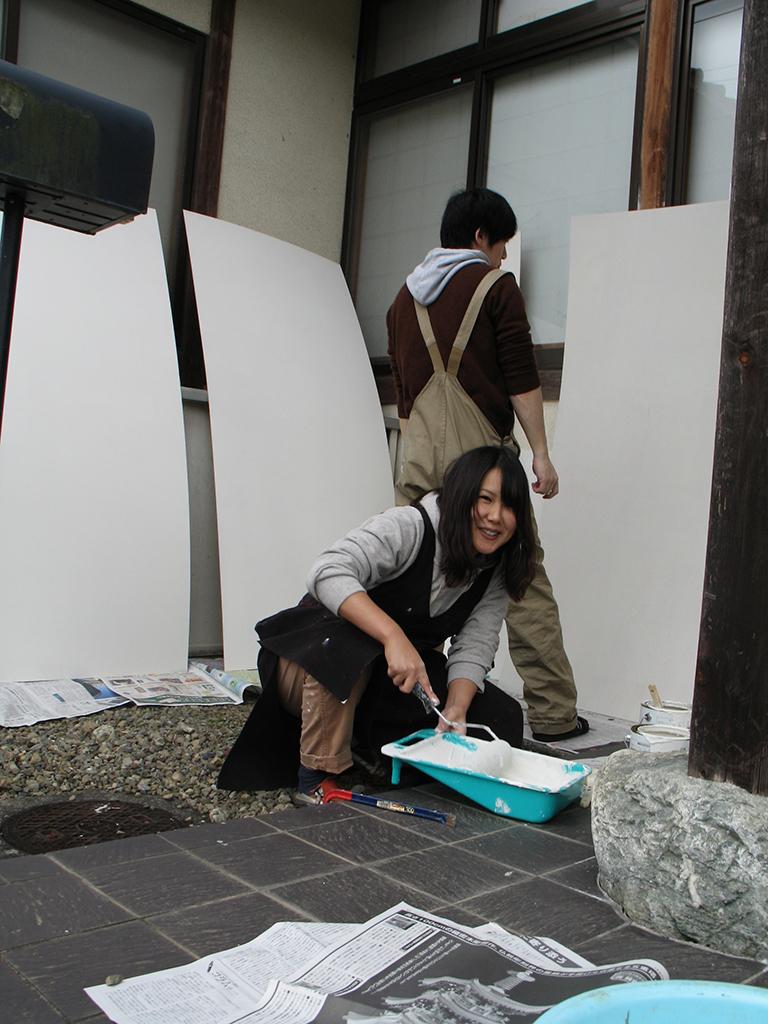 Ausstellung Itsukaichi, Aufbau