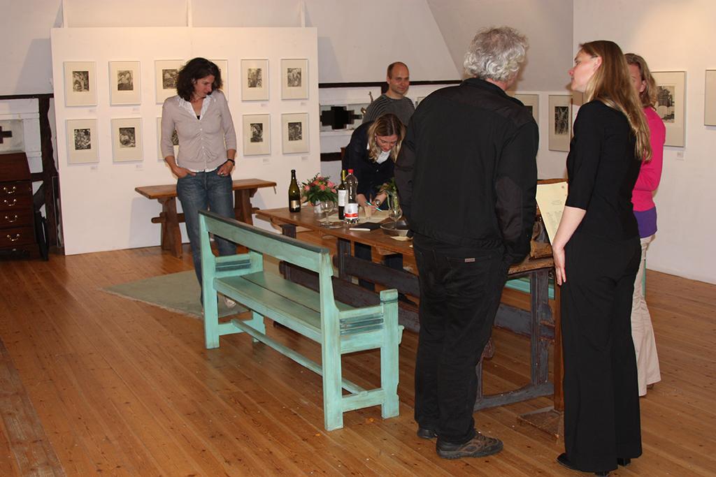 Ausstellung Elbdörfer Galerie Vernisage
