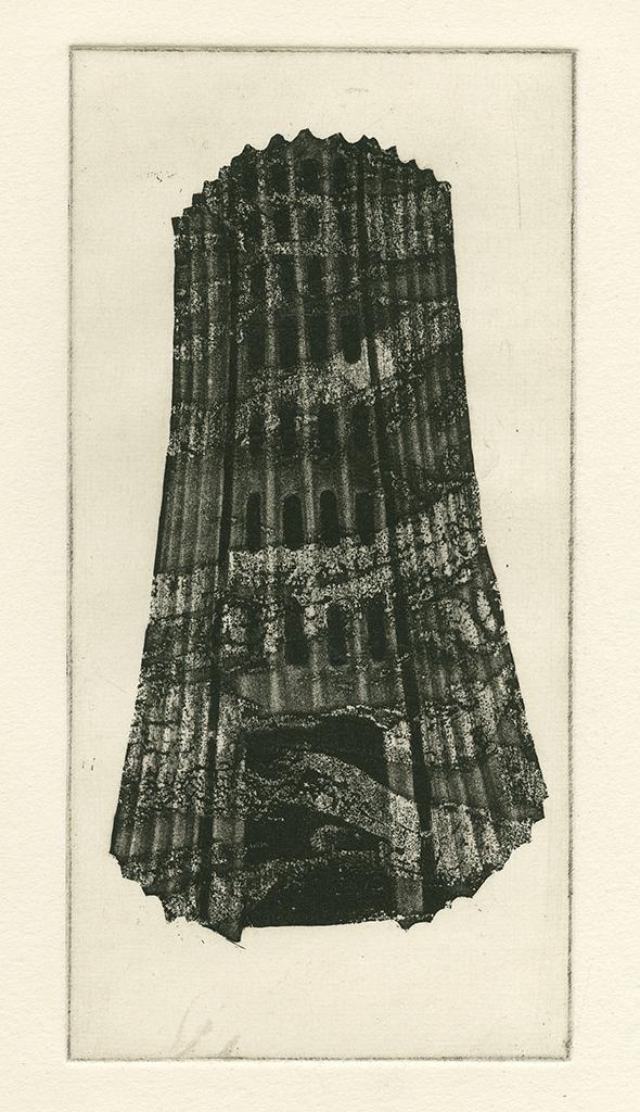 Runder Wasserturm