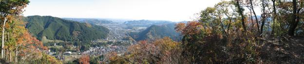 Panoramablick vom Hausberg in Itsukaichi