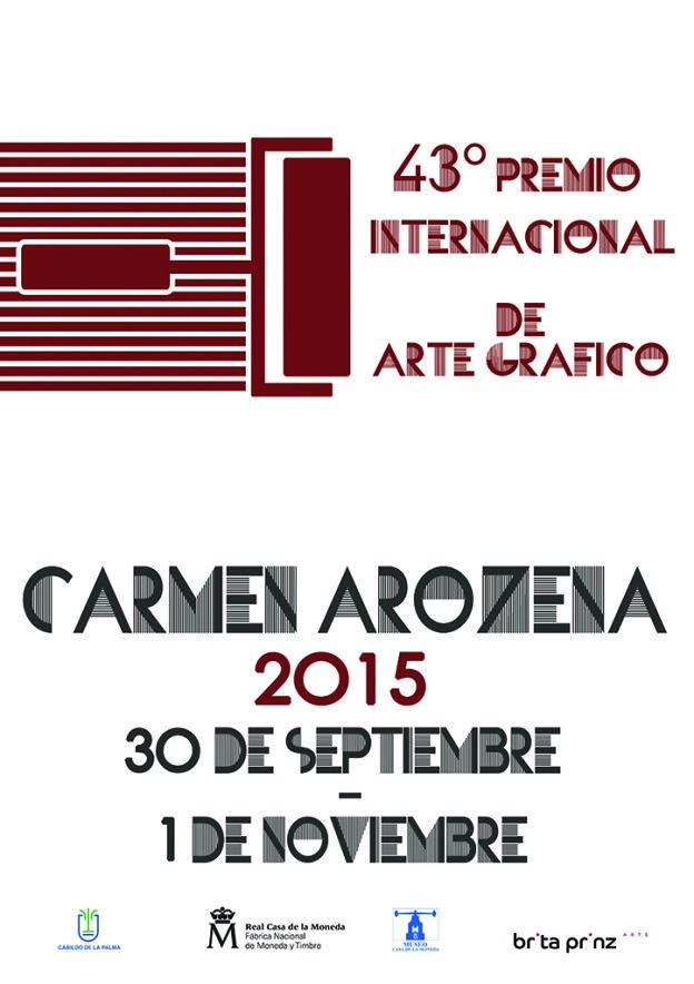 Cartel Arozena 2015